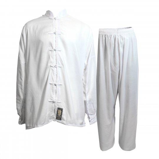 White Tai Chi Uniform