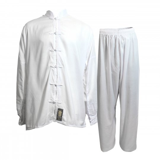 White Tai Chi Uniform
