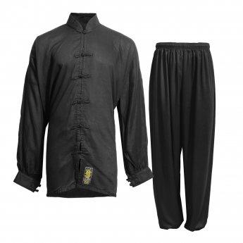 Black Tai Chi Kimono