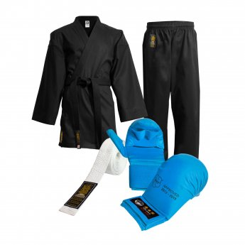 Pack de karate Black