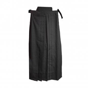 Pantalones de aikido Hakama negro