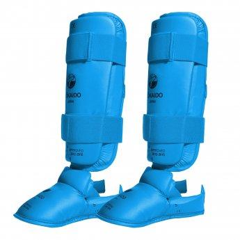 OUTLET Espinilleras azules homologadas Tokaido