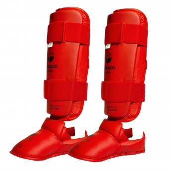 Approved Red Tokaido Shin Guards