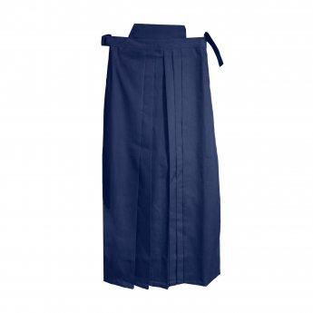 Pantalones de aikido Hakama azul
