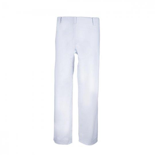OUTLET White Basic Pants
