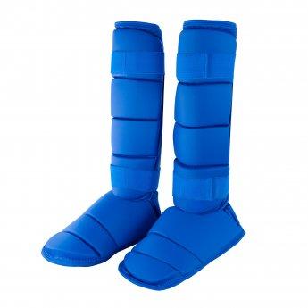 Espinilleras y Tobilleras Especiales Azules