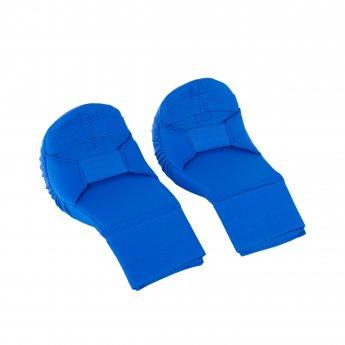 Espinilleras de Karate azules