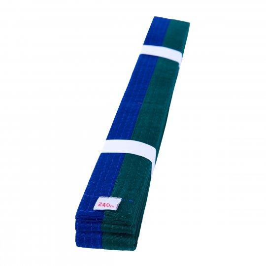 Cinturón de Artes Marciales Verde Azul