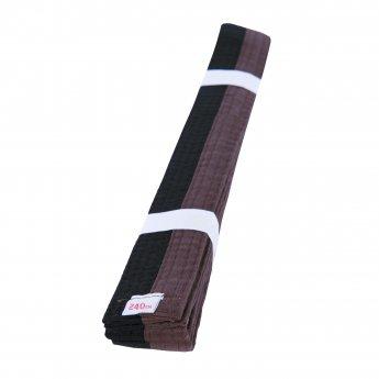Cinturón de Artes Marciales Marron Negro