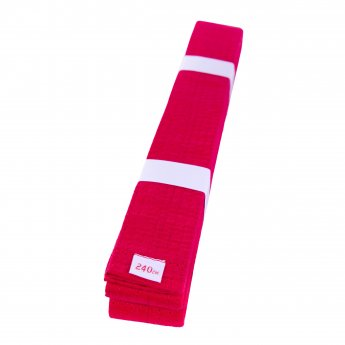 Cinturón de Artes Marciales Rojo