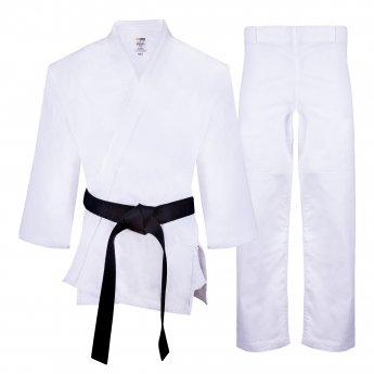 White Shishei Judo Kimono