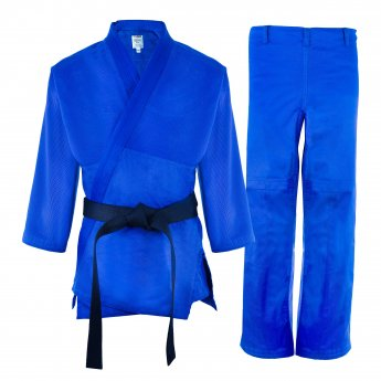 Blue Shishei Judo Uniform