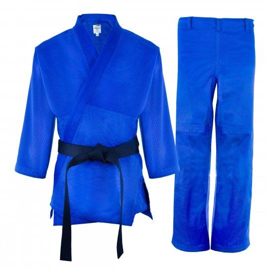 Kimono de judo Sankaku azul