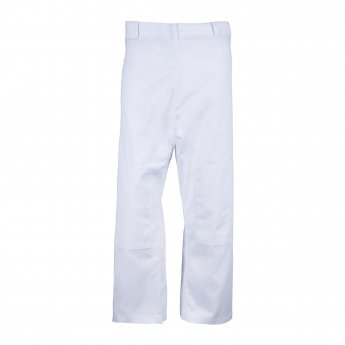 OUTLET White Basic Pants