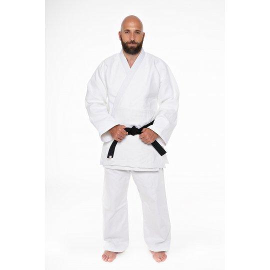 White Sankaku Judo Kimono