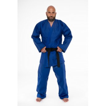 Blue Sankaku Judo Uniform