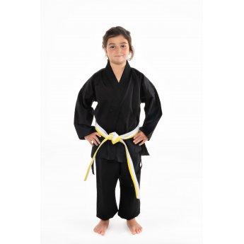 Black Karate Kimono
