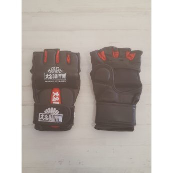 OUTLET Guante MMA Piel Negro