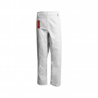 White Zubon Judo Pants