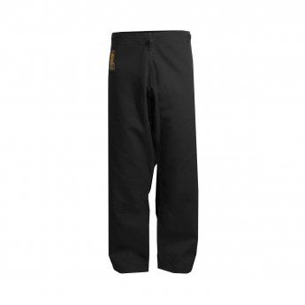OUTLET Black Basic Pants