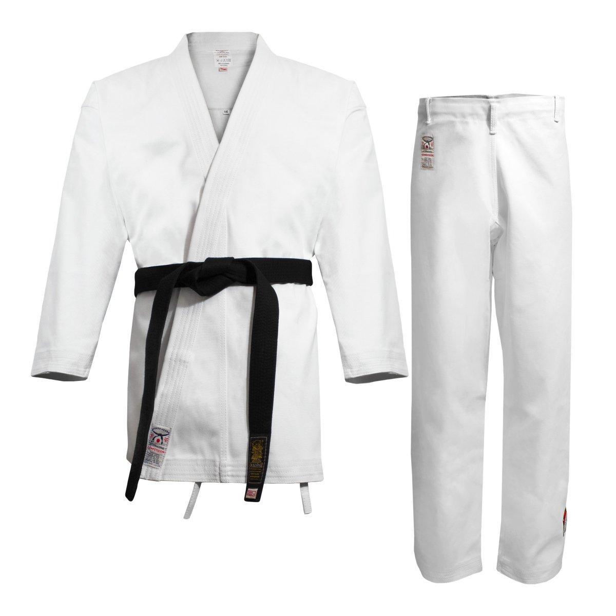 Kimono Karate. Karate Gi Cinto Negro. Kimono Blanco - daimyo.es f05172e41cc7