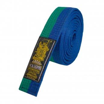 Cinturón verde y azul