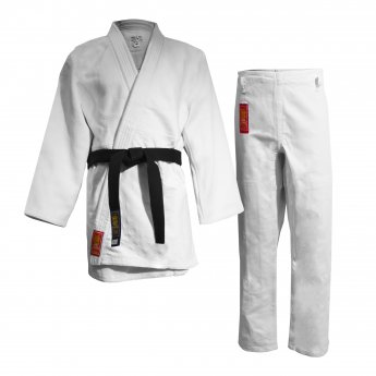 White Warrior Judo Kimono