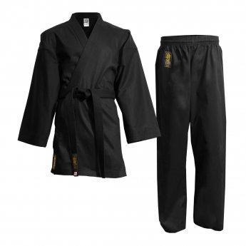 OUTLET Black Karate Kimono