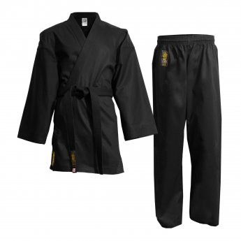 Uniforme de karate Black