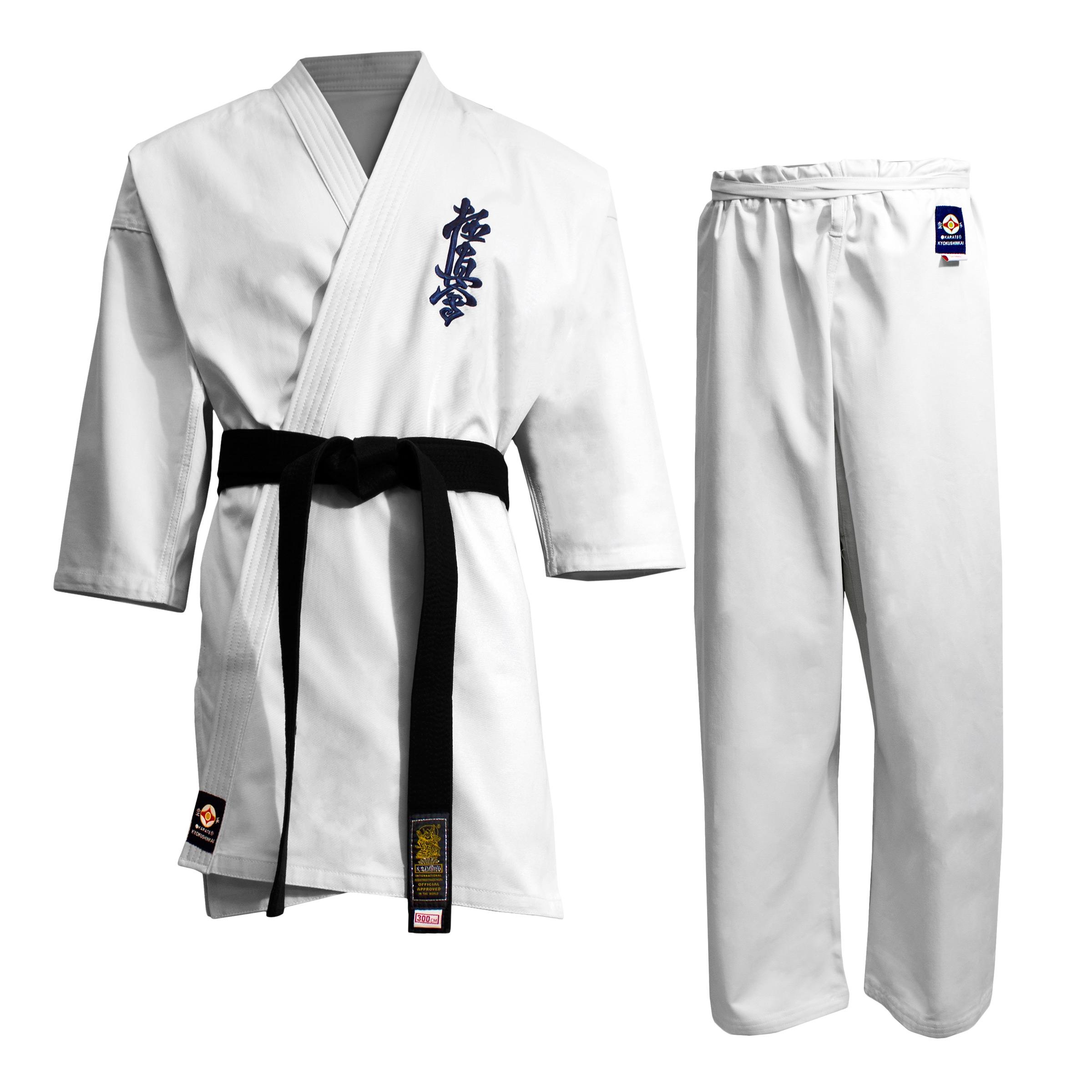 Resultado de imagen de uniforme kyokushin