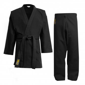 Black Super Karate Uniform