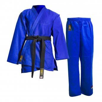 Uniforme de judo Waza azul