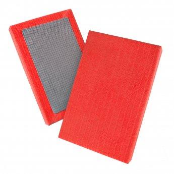Tatami de judo rojo