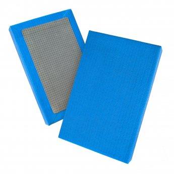 Tatami de judo de paja de arroz homologado azul