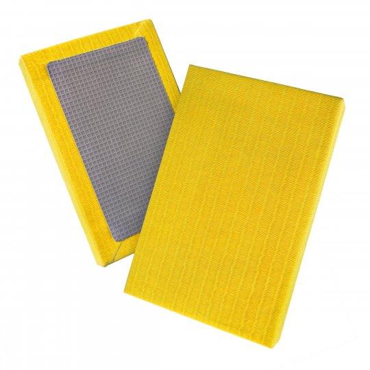 Tatami de judo de paja de arroz homologado amarillo