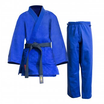Uniforme de judo Warrior azul